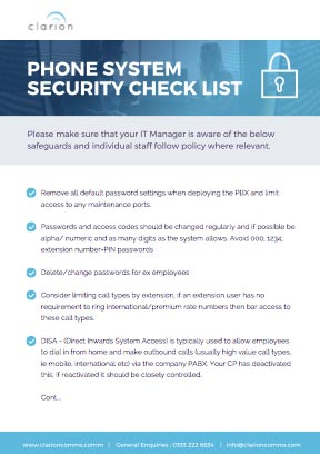 Clarion-phone-system-security-checklist-download
